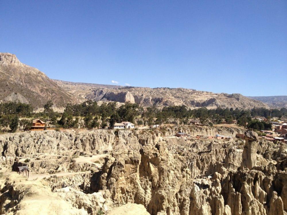 ボリビア ラパス 月の谷