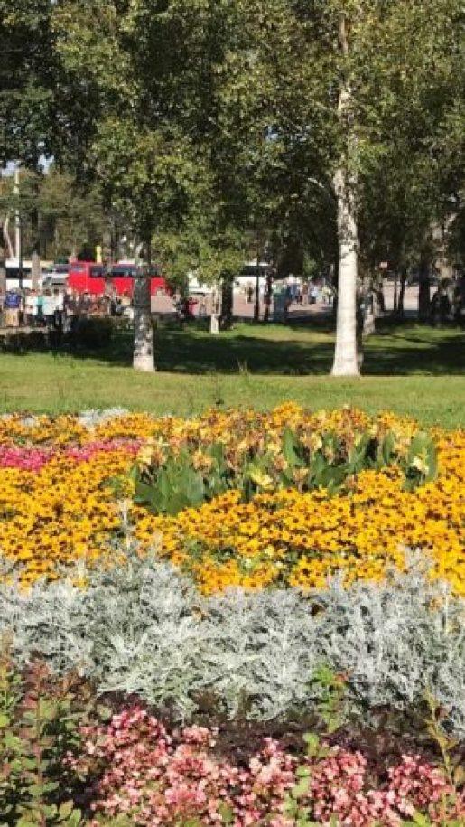 ロシア 街並 公園