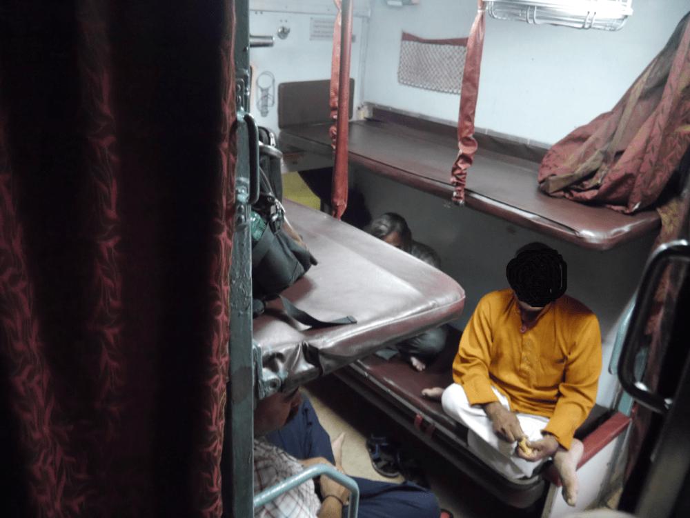 インド 寝台列車 トイレ