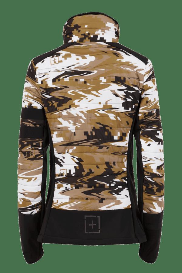 Giacca softshell imbottita Camouflage