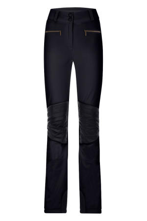 Pantaloni da sci in softshell Neri