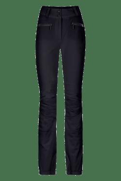 Pantaloni sci in softshell Neri Donna