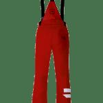 Pantaloni da sci Rosso