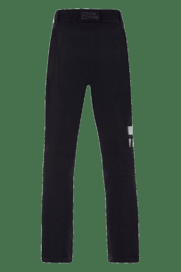 Pantaloni sci in softshell Neri