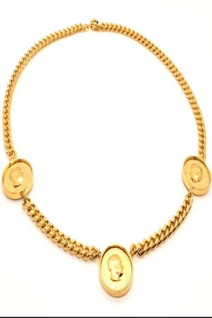 elizabeth necklace 3 coin