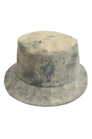 Cappello 1990 Bucket in Denim Indaco Effetto Shadow