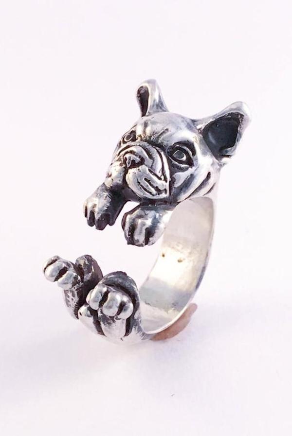 Anello Bulldog Francese