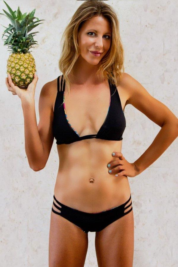 Top Bikini Stromboli Tropical Flower