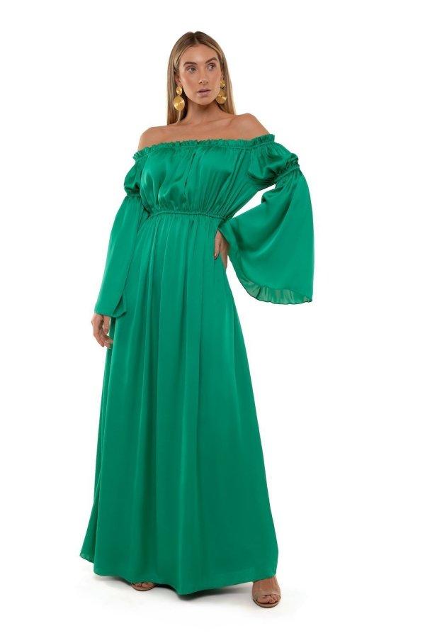 Vestito Windsor Verde