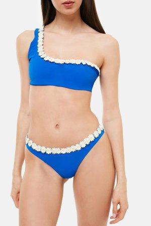 Costume Marghe Monospalla Bikini Blu