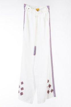 Pantaloni Ammora bianco