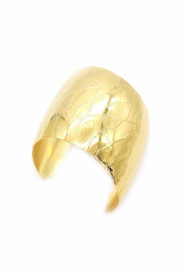 Bracciale Divina con Lavorazione Radice Oro