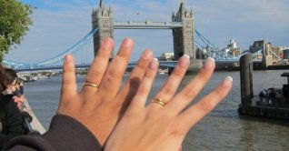 Programa romântico em Londres