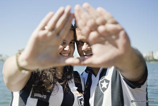 E deixamos marcado esse amor pelo Botafogo