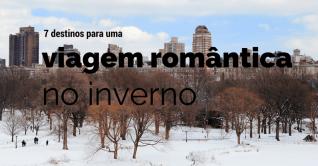 7 destinos de inverno para uma viagem romântica