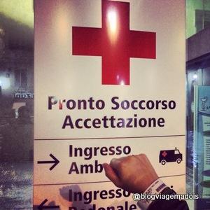 Usando o seguro na Itália