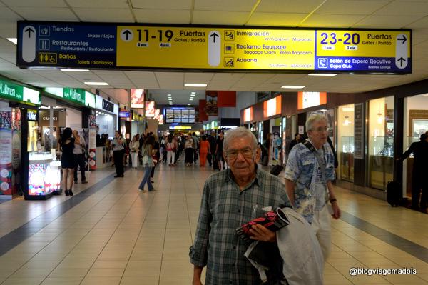 No aeroporto do Panamá!