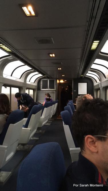 trem pelo EUA