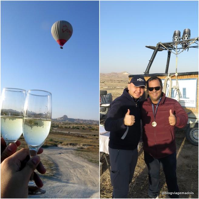 Voo de balão na Capadócia 6
