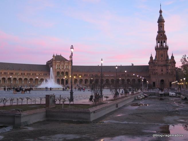 Um dia em Sevilha