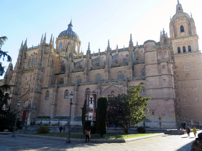 Quatro horas em Salamanca