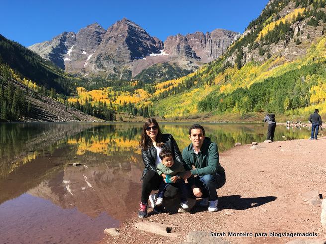 viagem de carro pelo Colorado