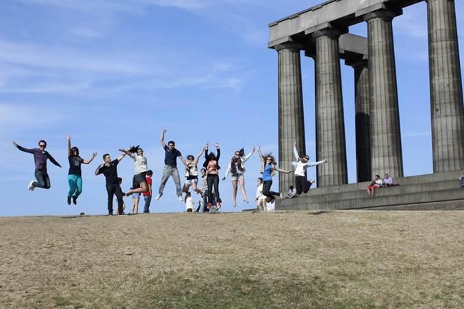 Edimburgo é diversão garantida. Foto: Egali Intercâmbio