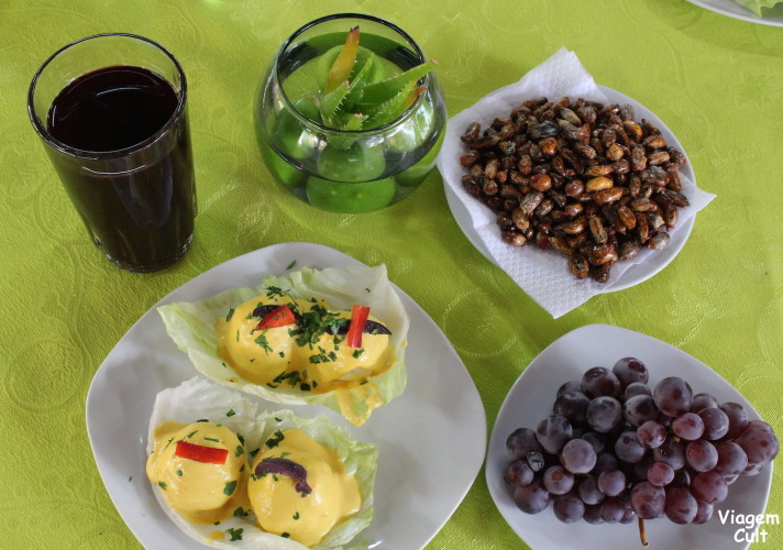 Comida peruana que provamos no El Catador