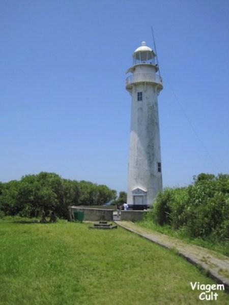 O famoso farol da ilha