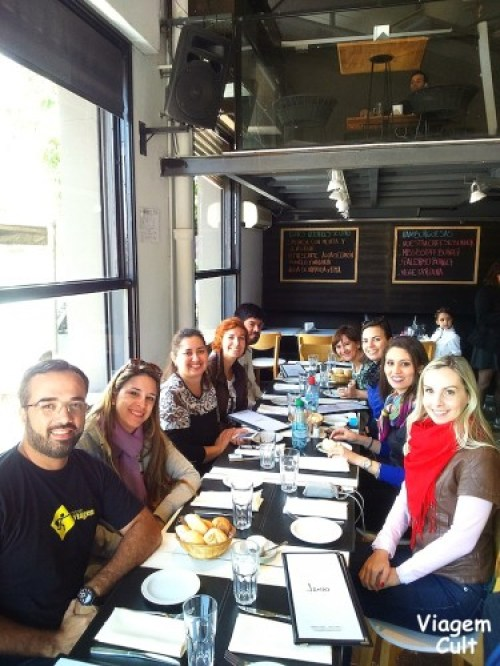 Blogueiros brasileiros que participaram do I Encontro
