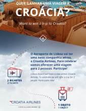 Quer ganhar uma viagem à Croácia? Concurso até 27 de Maio