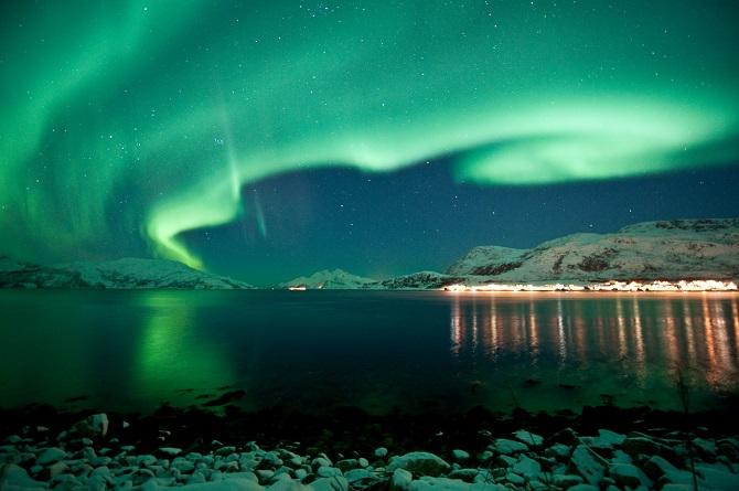 Best Place Sweden See Northern Lights