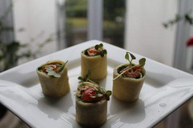 Mimos da cozinha servidos no quarto