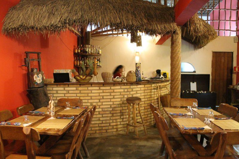 Restaurante Manzuá, em São Miguel dos Milagres