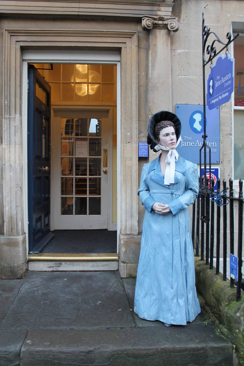 The Jane Austen Centre, em Bath, na Inglaterra