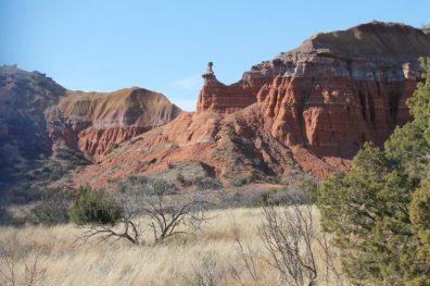 Capitol Peak, em Palo Duro Canyon, Texas
