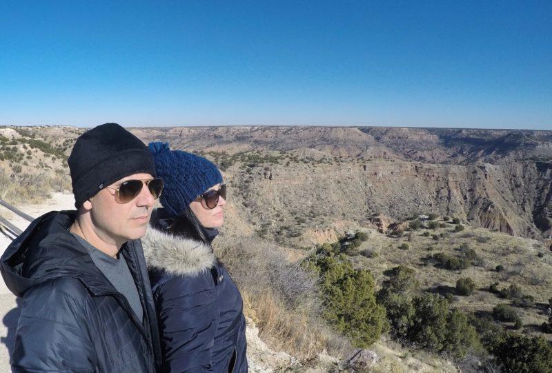 Palo Duro Canyon, localizado próximo a Amarillo, no Texas