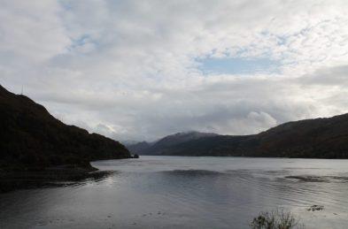 Vista do Eilean Donan, na Escócia