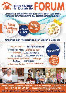 Salon du Bien vieillir à Lyon, lundi 25 janvier 2016