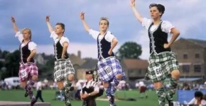 Highland Games ad Aberdeen, in Scozia