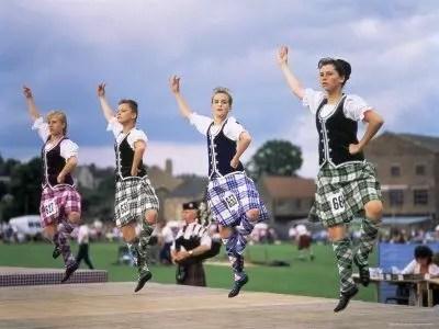 Highland Games ad Aberdeen, in Scozia