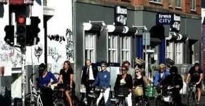 In bici a Copenaghen con meno di 3€