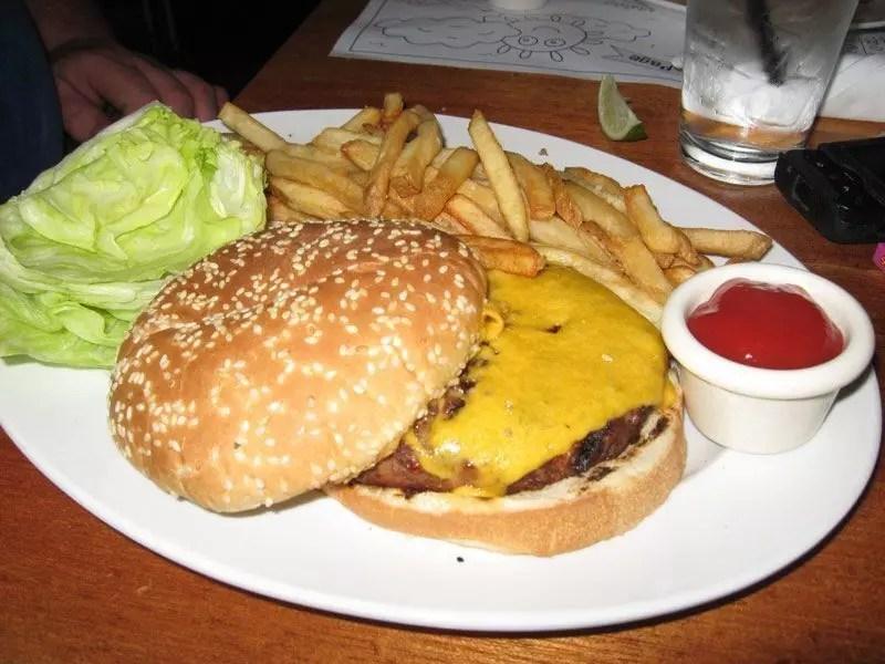 McCormick and Schmick's hamburger