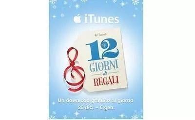 12 giorni di regali – grazie Apple