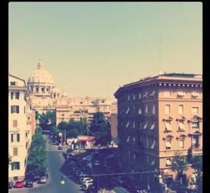 A Casa di Nannalì a Roma: b&b vista San Pietro