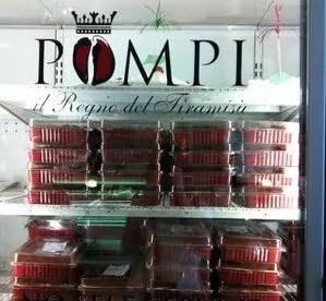 Pompi a Roma: tiramisù alla fragola e non solo