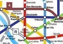 Applicazione per la metro di Madrid