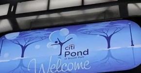 Citi Pond, pattinare sul ghiaccio a New York