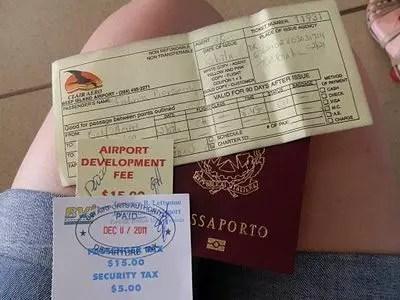 Sharm el Sheik, aeroporto e documenti