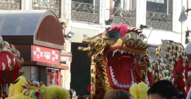 Capodanno cinese a Madrid. Anno del dragone